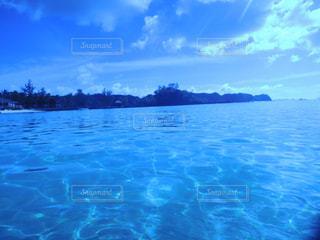 パラオの海とそらの写真・画像素材[1102786]