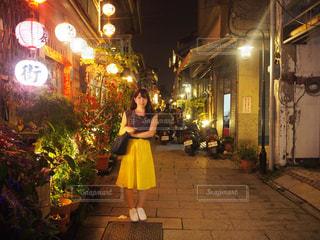 台南と私の写真・画像素材[1285461]