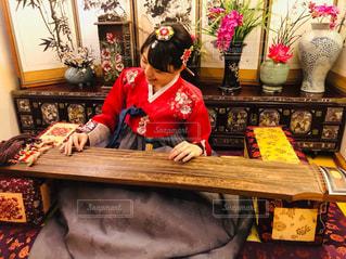 気分は韓国の貴族!?の写真・画像素材[1847398]