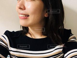 すっぴん肌の写真・画像素材[2294760]