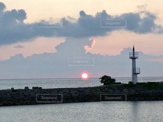 夕焼け模様の写真・画像素材[2329195]