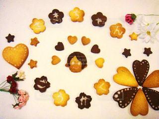 手作りクッキーの写真・画像素材[868115]