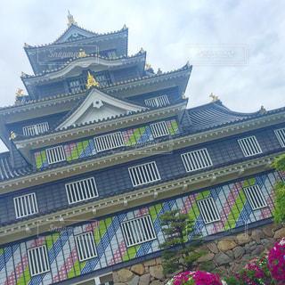 岡山城の写真・画像素材[473549]