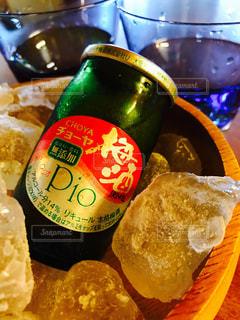 飲み物,夏,お酒,梅,氷,ドリンク,アルコール,梅酒,果実酒,アルコール飲料