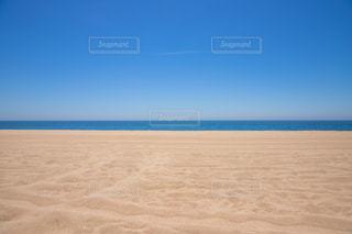 砂浜のビーチの写真・画像素材[1237496]