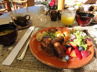 朝食,アメリカ,ホテル,ハワイ,ハレクラニ,モーニングブッフェ