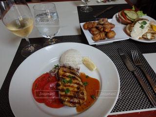 ランチ,アメリカ,魚料理,ハワイ島,Merriman's