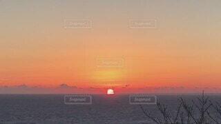 自然,風景,空,屋外,太陽,雲,夕暮れ,水面,日没,伊豆の海