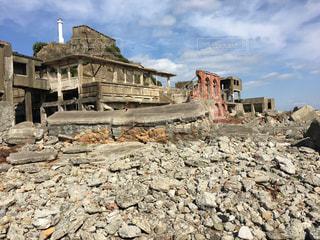 観光,廃墟,軍艦島,歴史,長崎,ツアー,見学,端島,上陸,炭鉱