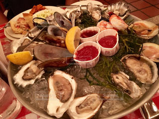 ニューヨーク,アメリカ,オイスターバー,グランドセントラルターミナル,law platter,生牡蠣盛合せ