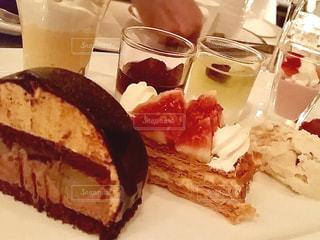 スイーツ,ケーキ,デザート,レストラン,盛合せ
