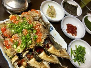 米,韓国,カニ,KOREA,カンジャンケジャン,麻浦,眞味食堂