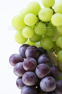 夏,紫,フルーツ,みずみずしい,くだもの,果実,ブドウ,葡萄,ビタミン,食材,自宅,マスカット,黄緑,ぶどう,人物なし,白バック