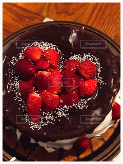 ケーキ,誕生日,チョコ,パーティー,イチゴ