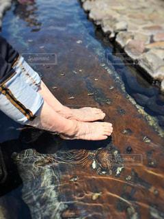 足湯の写真・画像素材[752550]