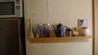 キッチン,ケトル,野田琺瑯,壁につけられる家具,キッチンコーナー