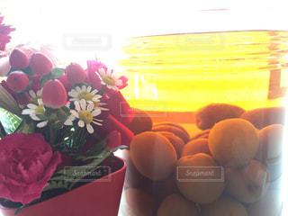 花,夏,おうち,自家製,梅酒