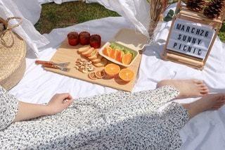 ピクニックの写真・画像素材[3081911]