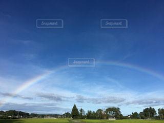 幸運の虹の写真・画像素材[1094960]