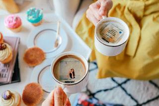 一杯のコーヒーの写真・画像素材[1464278]