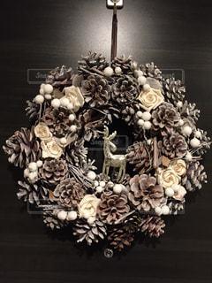 クリスマスリースの写真・画像素材[936091]