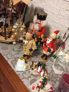冬,クリスマス,装飾,パイプ人形