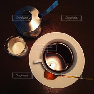 コーヒー,珈琲,cafe,俯瞰,cup,京都市,ウサギノネドコ,真俯瞰写真