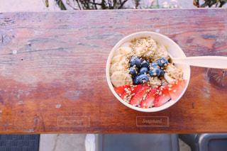 食べ物,赤,紫,苺,フルーツ,果物,ブルーベリー,果実,ハワイ,Hawaii,cafe,カイルア,女子旅,アサイー,ハワイ旅行,アサイーボウル,ハワイカフェ,バナナ