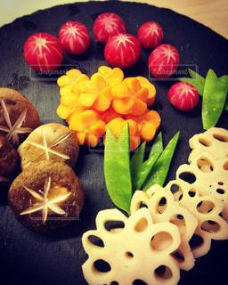 おせち,正月,テーブルフォト,手作り,おうち,準備中,飾り切り,北ドイツ