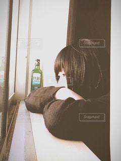 お酒,静寂,悲しい,人物,寂しい