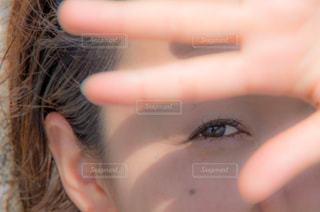 目の写真・画像素材[598888]