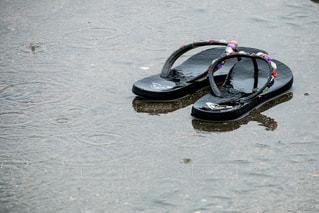 雨に濡れての写真・画像素材[3465090]
