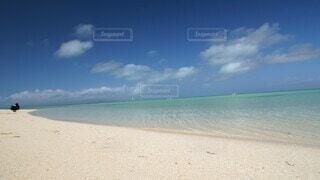 海,空,ビーチ,竹富島,コンドイビーチ,Hyperlapse