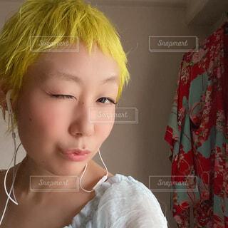 yellow Powerの写真・画像素材[4351334]