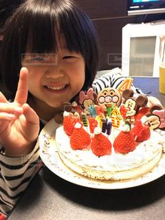 ケーキ,誕生日,手作り,姪っ子,バナナ風味