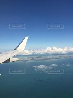 海外,飛行機,旅行,休日