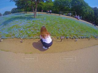 浜の男の子の写真・画像素材[1169578]