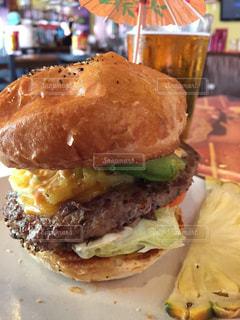ハンバーガーの写真・画像素材[489612]