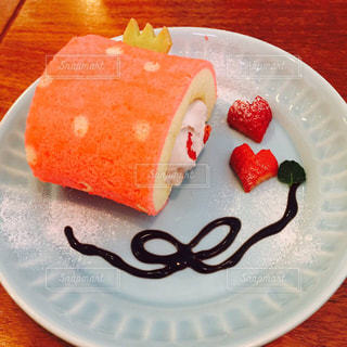 ケーキ,いちご,リボン