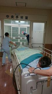 病院 点滴 入院 注射の写真・画像素材[639306]