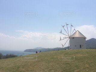 風車の写真・画像素材[491126]
