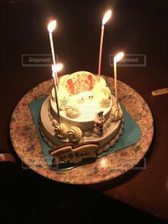 誕生日ケーキ,アナと雪の女王,サーティーワン,アイスケーキ