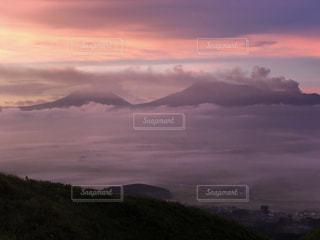 雲海の上での写真・画像素材[2440808]