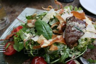 ドイツ,モーゼル,牛肉サラダ