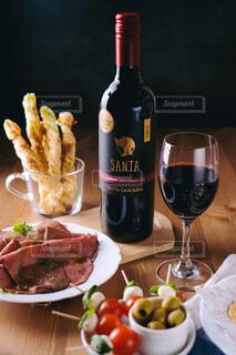 サンタカロリーナワインの写真・画像素材[4335715]