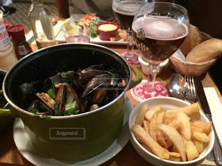 ビール,ベルギー,フライドポテト,ムール貝,ブリュッセル,Brasserie de la ville