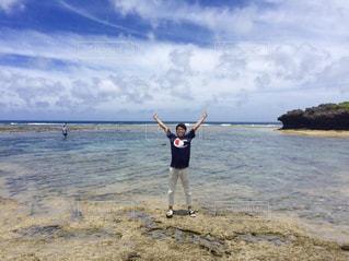 海,沖縄,景色,透明感
