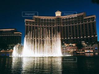 風景,夜景,海外,アメリカ,旅行,旅,噴水,ラスベガス,海外旅行,ベラージオ