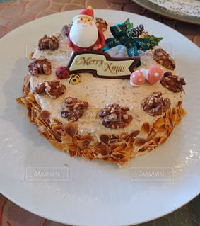 スイーツ,ケーキ,雪,かわいい,クリスマス,サンタクロース,クリスマスケーキ,cake