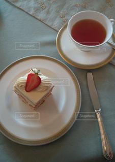 スイーツ,ケーキ,かわいい,紅茶,ストロベリー,cake,イチゴケーキ
